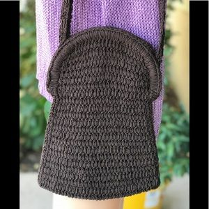 Carrie Forbes woven crochet bag